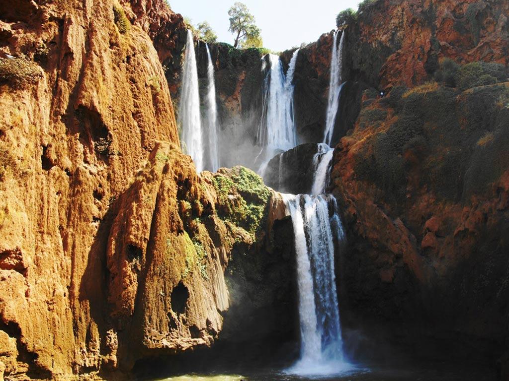 Excursions cascades d'Ouzoud Maroc
