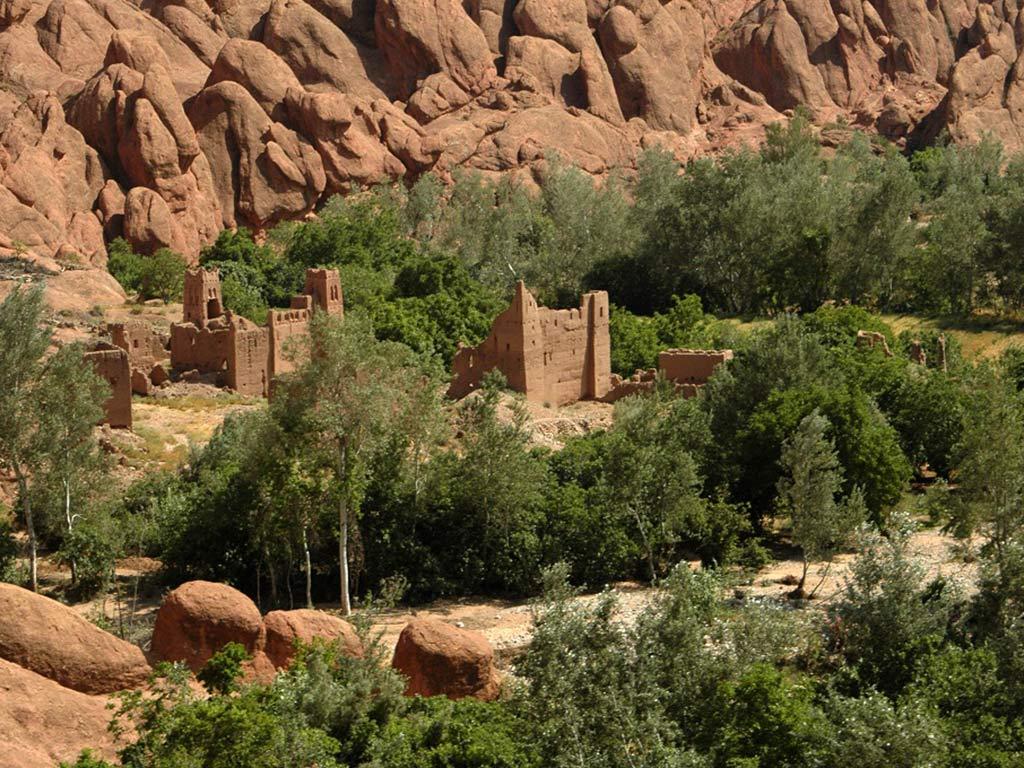 La vallée des Roses et du Dades Maroc