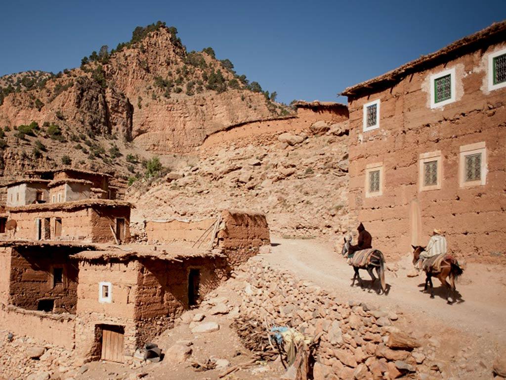 Trekking aux vallées de l'Atlas Maroc