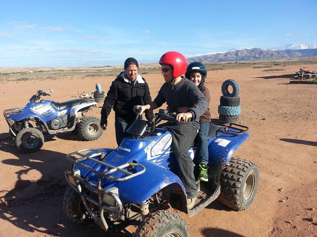Virées en quad à Marrakech