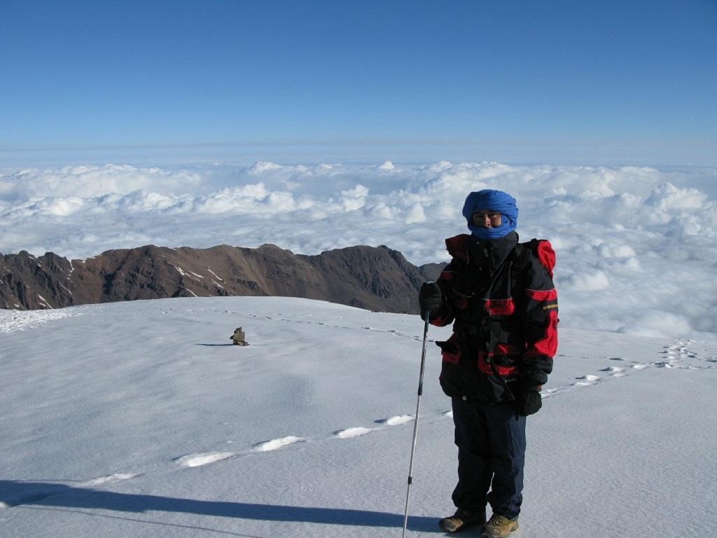 Trekking Mont Toubka, toit du Maroc